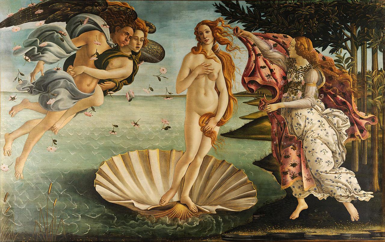 Sandro Botticelli - La nascita di Venere