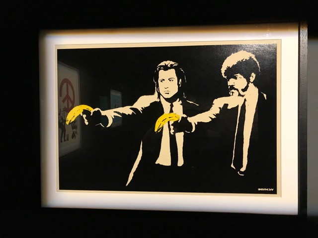 "BANKSY - ""Pulp Fiction"" 2004"