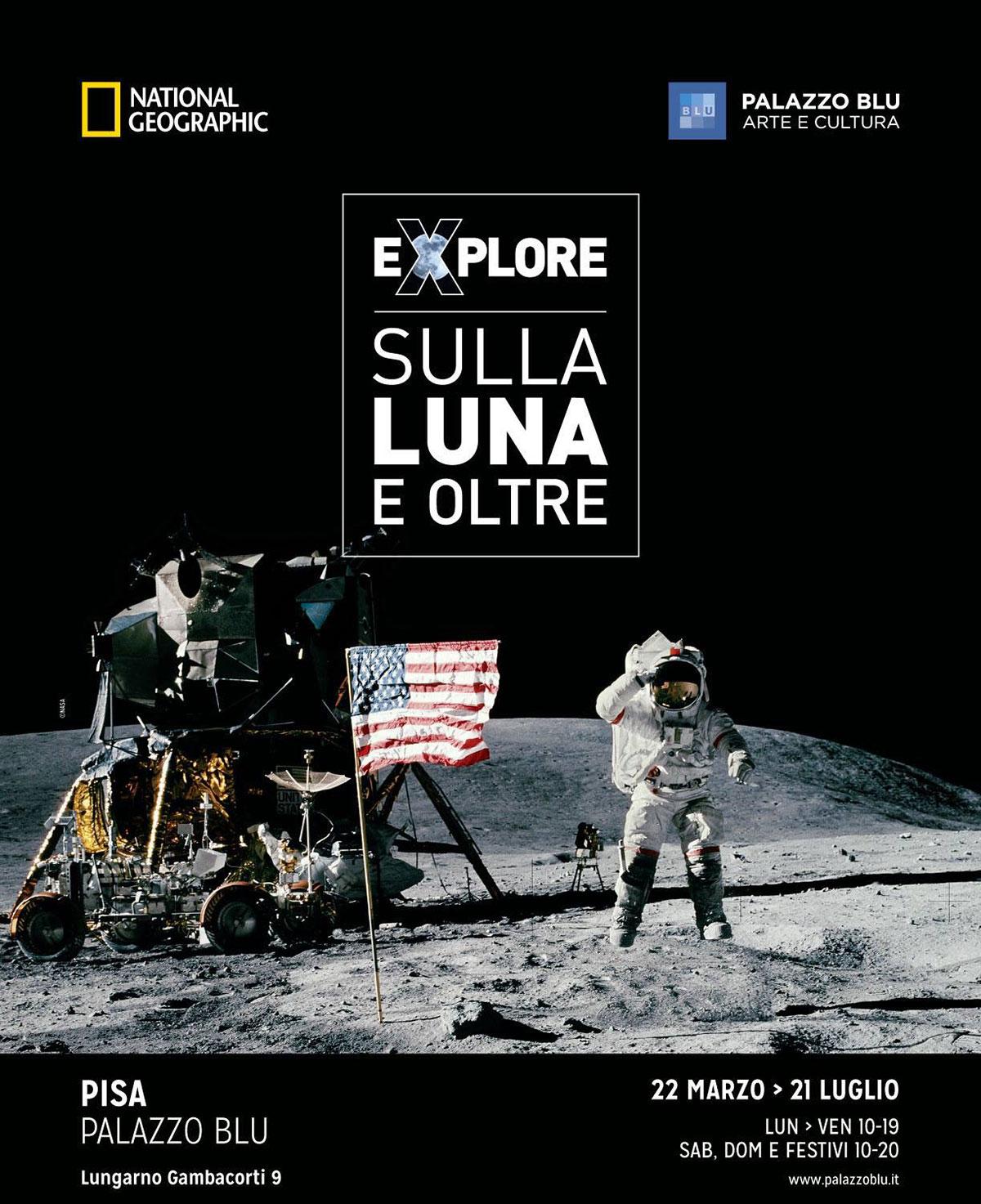 Locandina - Sulla Luna e oltre